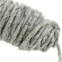 Viketråd 55m grå