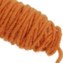 Viketråd 55m oransje