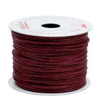 Wire pakket rundt 50 meter Bordeaux