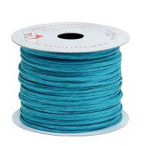 Wire pakket rundt 50 meter turkis