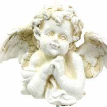 Gravsmykker dekorativ plugg engel bønn 5cm 4stk