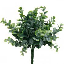 Kunstig eukalyptus bryllupsdekorasjon eukalyptus grener grønn H26cm