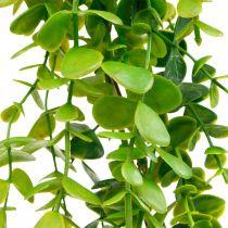 Bryllupsdekorasjon eukalyptuskrans kunstig grønn 122cm