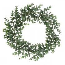 Dekorativ krans eukalyptus grønn Kunstig eukalyptus krans Ø32cm