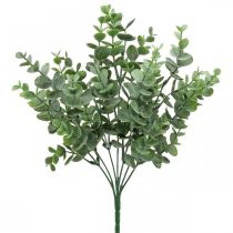 Eucalyptus gren grønn Kunstig eukalyptus dekorasjon på plukk 36cm