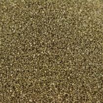 Fargesand 0,5 mm gult gull 2 kg