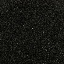 Fargesand 0,5mm svart 2kg