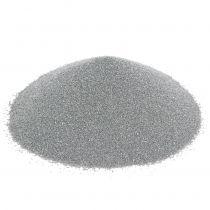 Fargesand 0,5mm sølv 2kg