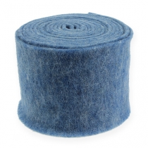 Filtbånd blå 15cm 5m