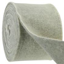 Filttape 15cm x 5m tofarget grå, hvit