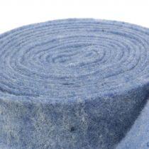 Filtbånd blå 7,5 cm 5m