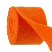 Filtbånd oransje 15cm 5m