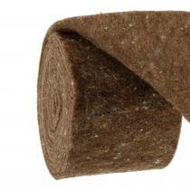 Filtbånd, grytebånd brun 15cm 5m