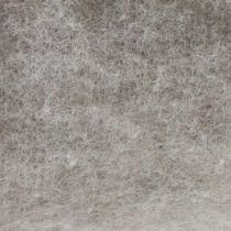 Filtbånd, grytebånd grå-naturlig 15cm 5m