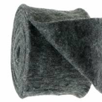 Filtbånd mørk grå 15cm 5m