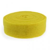 Filtbånd gul 7,5 cm 5m
