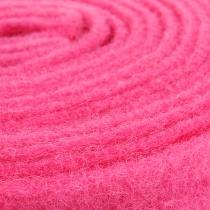 Filtbånd rosa 7,5 cm 5m