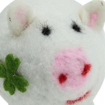 Lucky pig filt 7cm 3stk