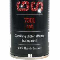 Glitter spray rød 400ml