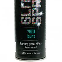 Glitterspray for å lage fargerik spraymaling, tinsel 400ml