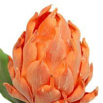 Skum artisjokk oransje 14cm L28cm 1p