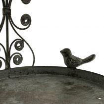 Fuglemater å henge i vintage stil H35cm