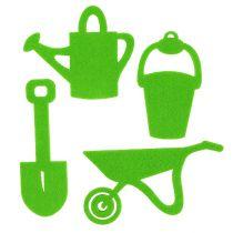 Hageverktøy filtgrønt 24stk