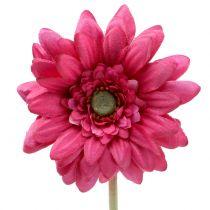 Gerbera Pink 48cm 12stk