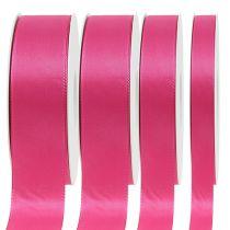 Gave- og dekorasjonsbånd 50m rosa