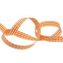 Gavebånd diamanter oransje 15mm 20m