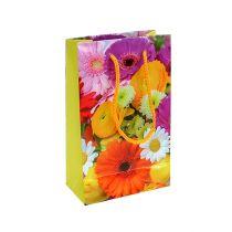 Gavepose med blomster 12cm x19cm 1p