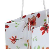 Gaveposer med blomster 25cm x 20cm x 11cm 6stk