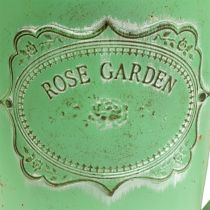 Dekorativ vannkanne antikk utseende grønn Ø19cm H30cm