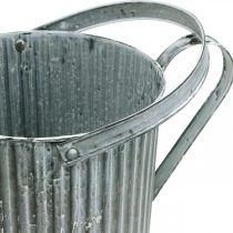 Vannkanne for planting, dekorativ metallkanne, planter Ø19,5cm