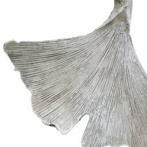 Gravdekorasjon Ginkgo blad til å henge 10cm 3stk