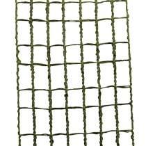 Rutenettbånd 4,5 cm x 10 m mosegrønn