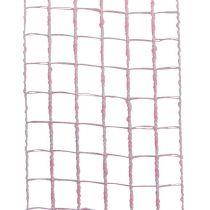 Rutenettbånd 4,5cm x 10m rosa