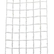 Rutenettbånd 4,5 cm x 10 m hvit