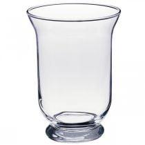 Glassvase klar Ø13,5cm H19,5cm glassdekorasjon blomstervase