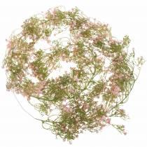 Garland gypsophila rosa 180cm