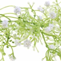 Garland gypsophila hvit 180cm