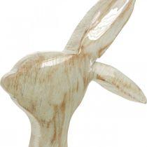 Dekorasjonsfigur, kanin, vårdekorasjon, påske, tredekor 30,5cm