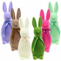 Flokket kanin 42cm Ulike farger