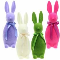 Flokket kanin 49cm Ulike farger