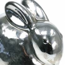 Kanin sølv antikk H14,5cm