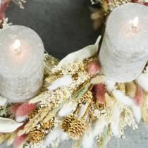 Tørr blomster kanin hale gress Lagurus rødbrun 100g
