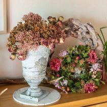 Høstkrans krysantemum lilla Ø30cm