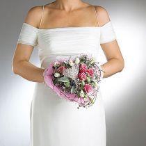 Brudebukettholder med blomsterskum Ø7cm 16cm 6stk