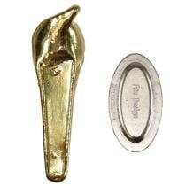 Bryllupsnål med magnet gull 5cm
