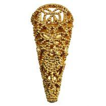 Bryllupsnål med magnet gull 4,5 cm